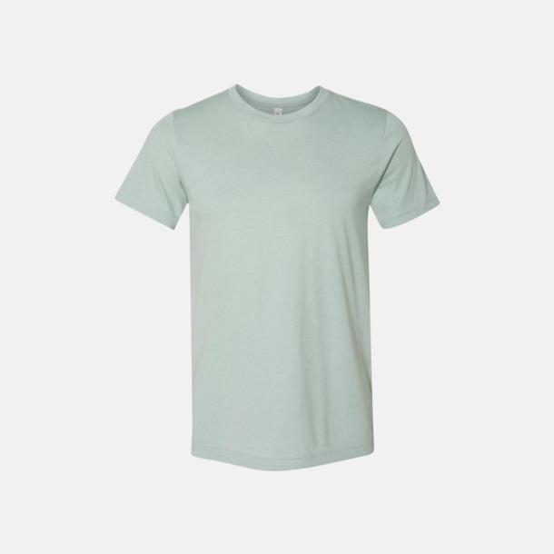 Heather Dusty Blue T-shirts för herr och dam - med reklamtryck
