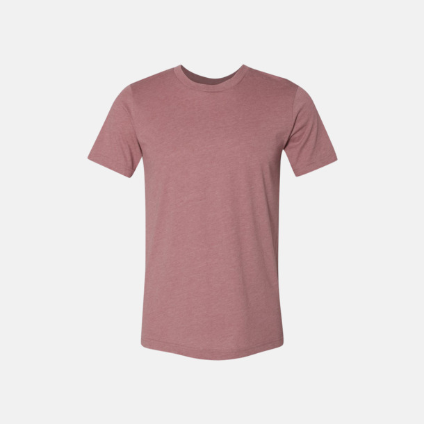 Heather Mauve T-shirts för herr och dam - med reklamtryck