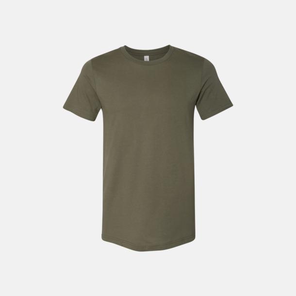 Military Green T-shirts för herr och dam - med reklamtryck