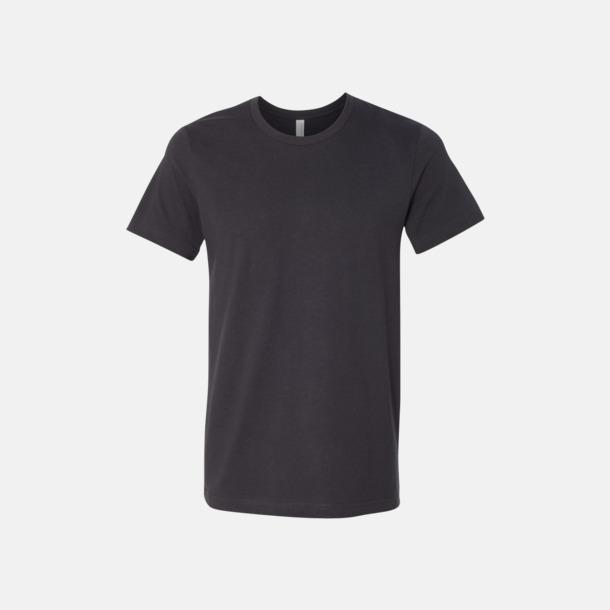Mörkgrå T-shirts för herr och dam - med reklamtryck