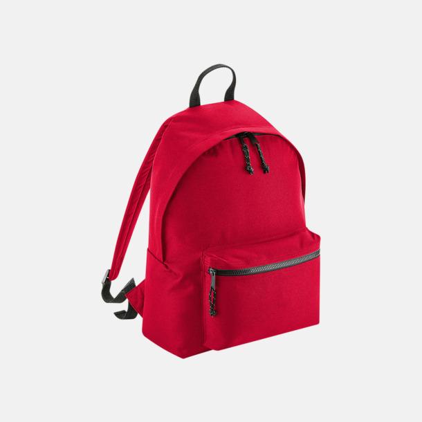 Classic Red Ryggsäckar i återvunnen PET med reklamtryck
