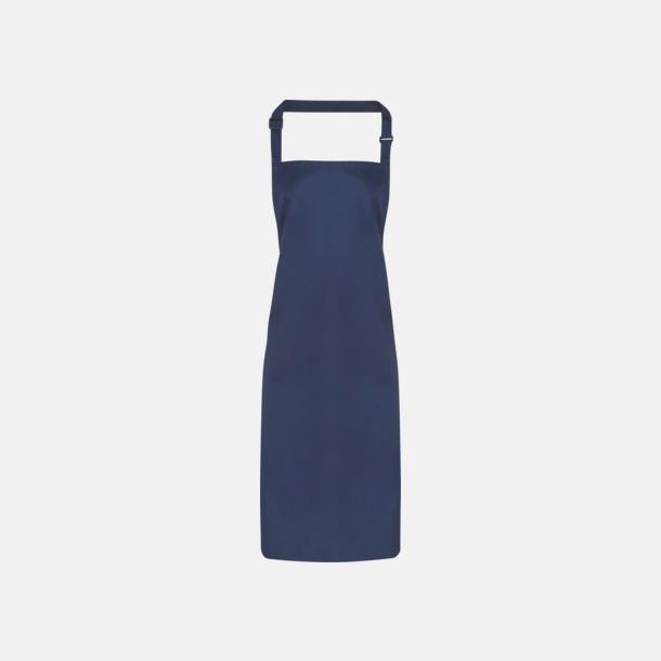 Marinblå Förkläden som är vattentäta - med reklamlogo