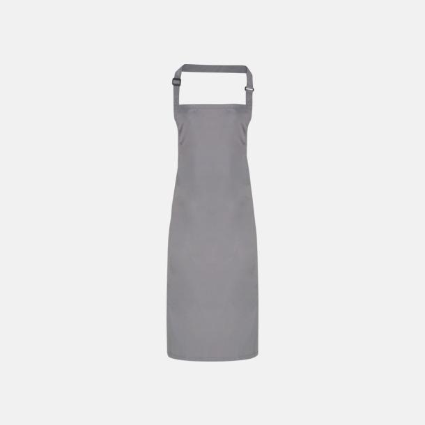 Mörkgrå Förkläden som är vattentäta - med reklamlogo