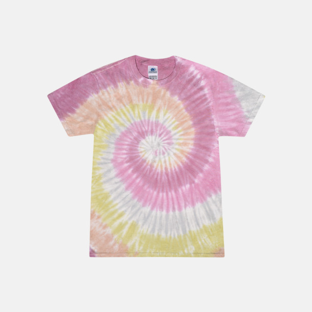Desert Rose (endast unisex) Batikfärgade t-shirts med reklamtryck