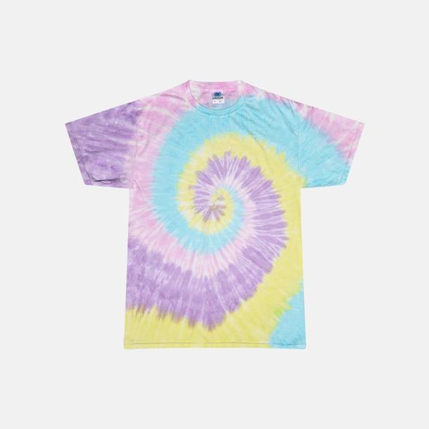 Jelly Bean (endast unisex) Batikfärgade t-shirts med reklamtryck