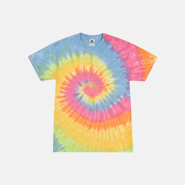 Eternity Batikfärgade t-shirts med reklamtryck