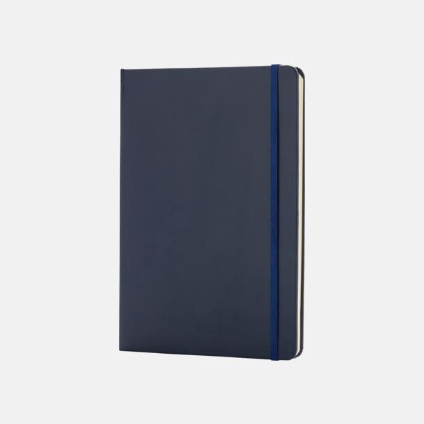 Marinblå Anteckningsböcker i A5 med reklamtryck