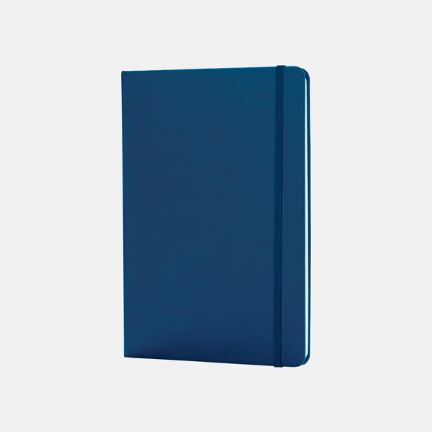 Blå Anteckningsböcker i A5 med reklamtryck