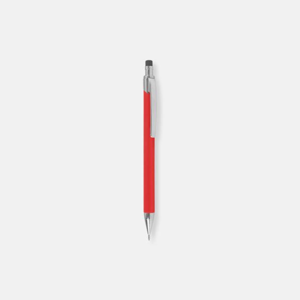 Röd (stift) Ballografpennor med eget tryck