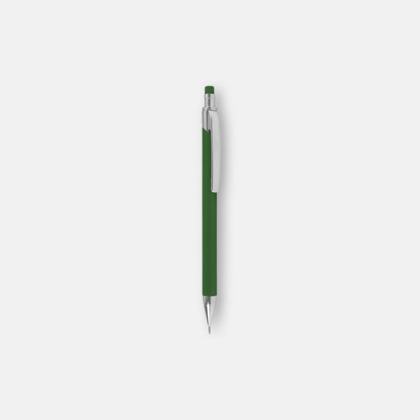 Grön (soft stift) Ballografpennor med eget tryck