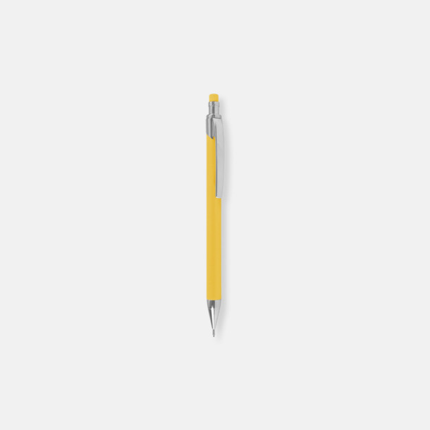 Gul (soft stift) Ballografpennor med eget tryck