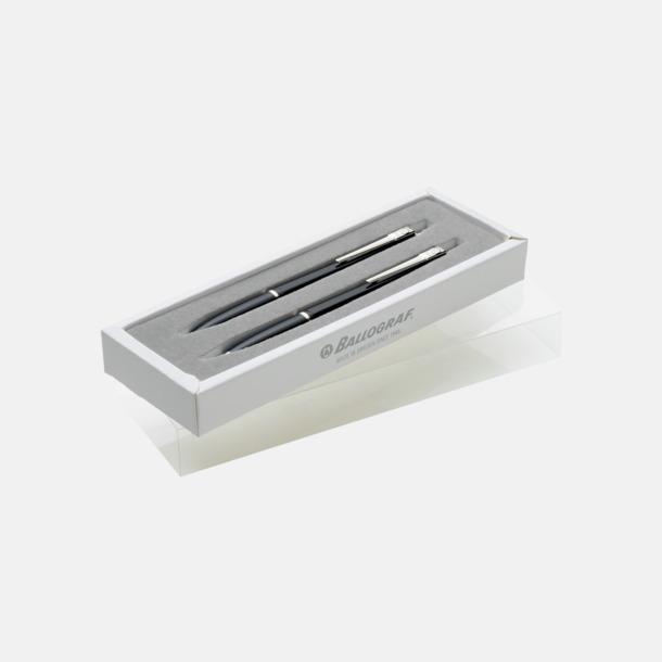 Paper Gift Box double (tillval) Ballografpennor med eget tryck