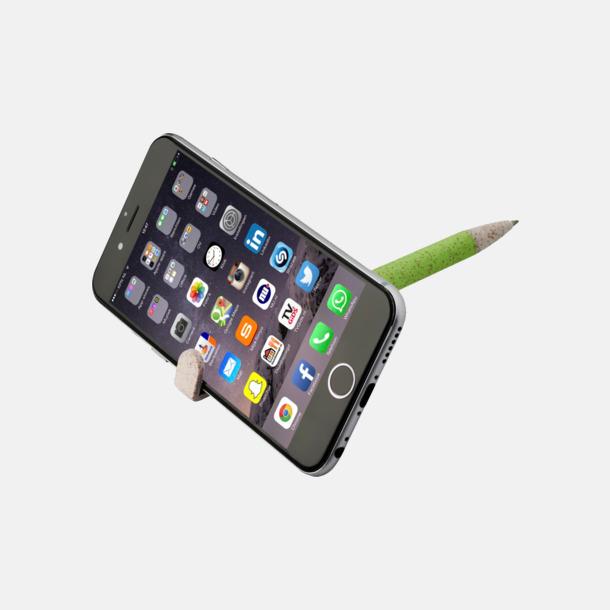 Vetepenna med mobilhållare - med reklamtryck