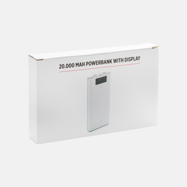 Kraftfull powerbank med eget reklamtryck