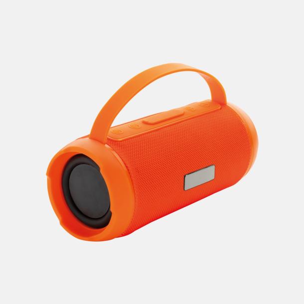Orange Vattentäta trådlösa högtalare med eget reklamtryck