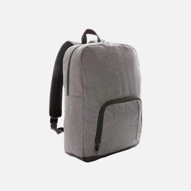 Grå Kylväska i form av en ryggsäck med eget reklamtryck