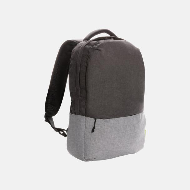 Grå Ryggsäckar för laptop med eget reklamtryck