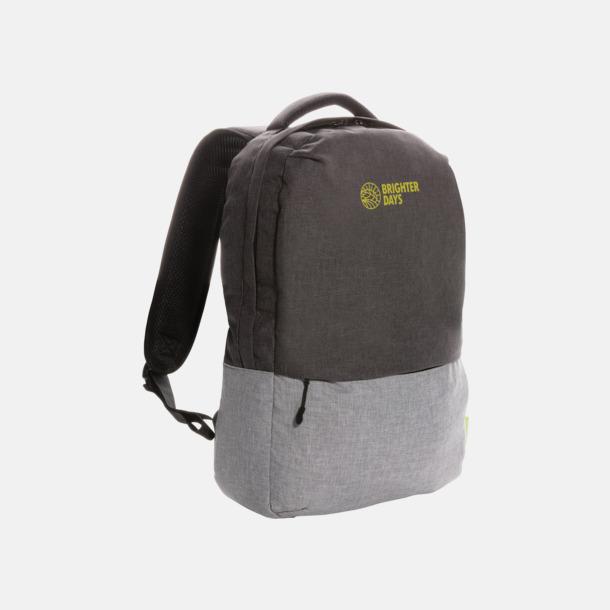 1 färgstryck Ryggsäckar för laptop med eget reklamtryck