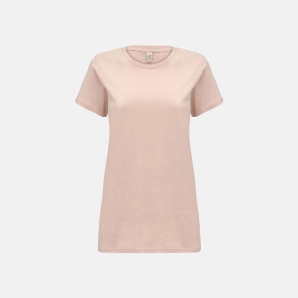 Misty Pink (dam) Eko t-shirts för vuxna & barn - med reklamtryck