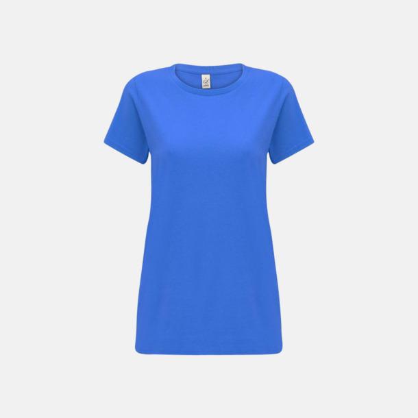 Bright Blue (dam) Eko t-shirts för vuxna & barn - med reklamtryck