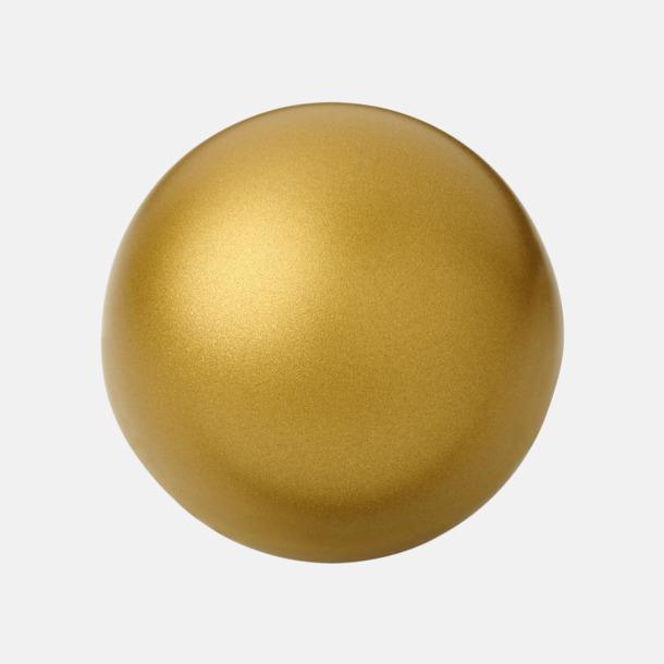 Guld Trycka stressbollar - Stressbollar med tryck