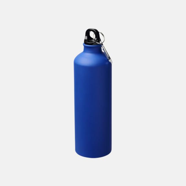 Blå Stora vattenflaskor i matt finish med reklamtryck