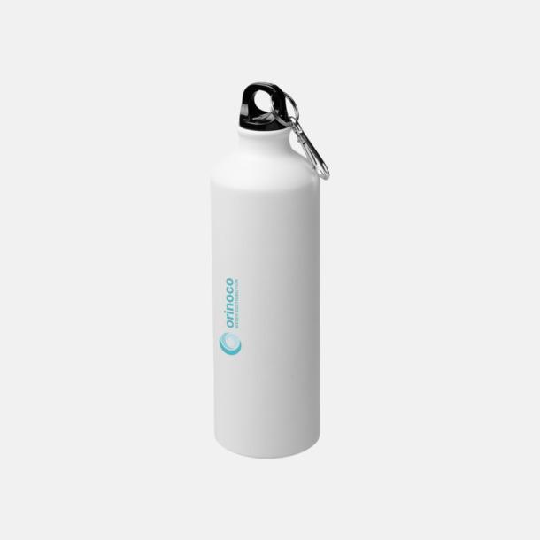 Tampotryck Stora vattenflaskor i matt finish med reklamtryck