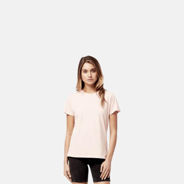 Dammodell (Misty Pink) Eko t-shirts för vuxna & barn - med reklamtryck