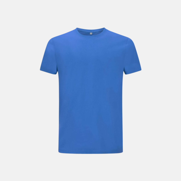 Bright Blue Unisex eko t-shirts med reklamtryck