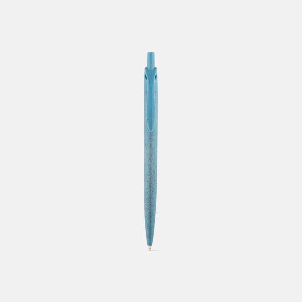 Pennor tillverkade i mindre procent plast med eget tryck