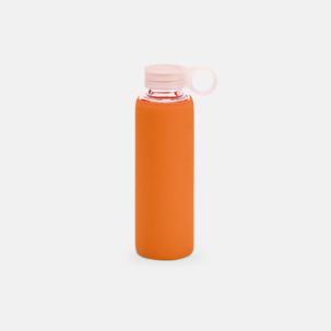 Vattenflaskor i glas med egen logga