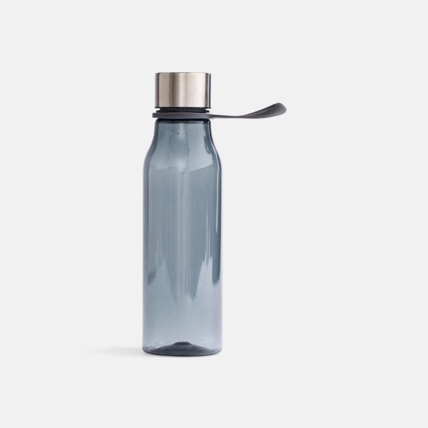 Mörkgrå Vattenflaskor i BPA-fri tritan från VINGA of Sweden med egen logga
