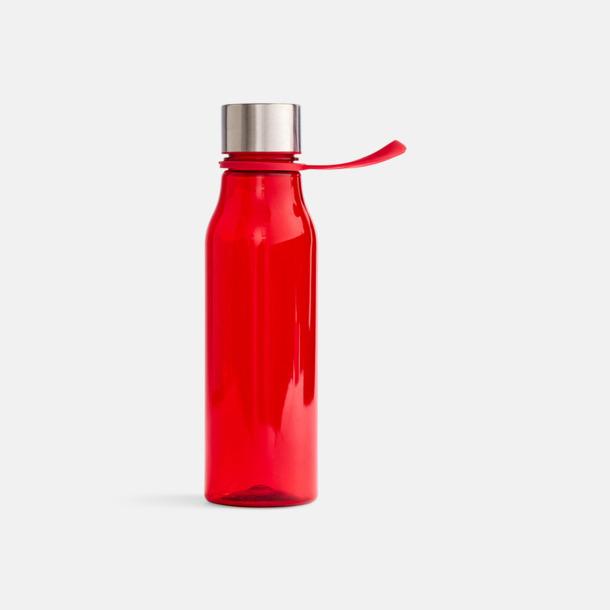 Röd Vattenflaskor i BPA-fri tritan från VINGA of Sweden med egen logga