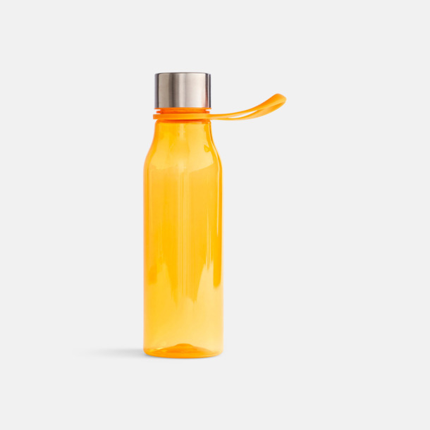 Orange Vattenflaskor i BPA-fri tritan från VINGA of Sweden med egen logga