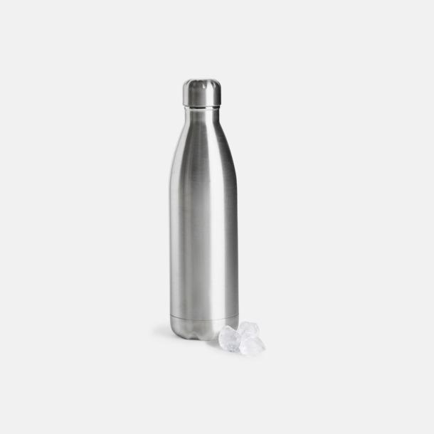 Silver Stora stålvakuumflaskor från Sagaform med reklamtryck