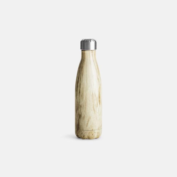 Trä Stålvakuumflaskor från Sagaform med reklamtryck