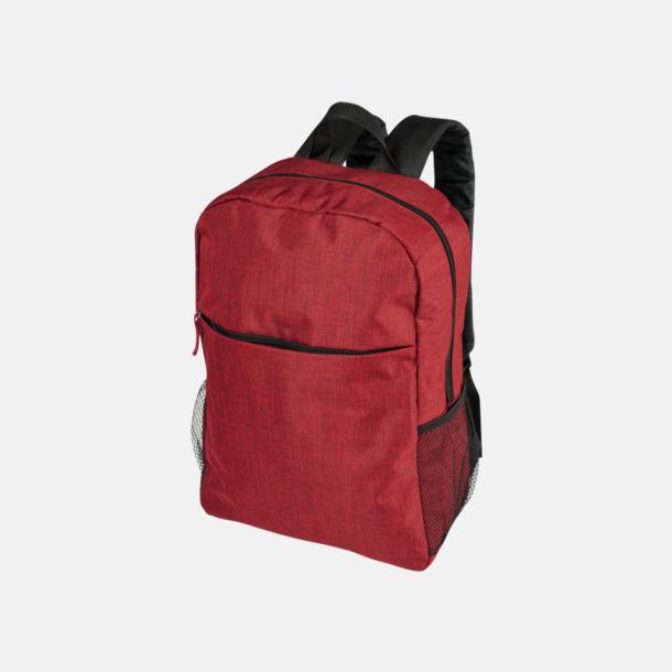 Röd Heather mönstrad ryggsäck med reklamtryck