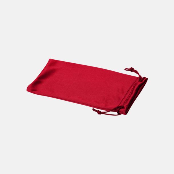 Röd Fodral i många färger med reklamtryck