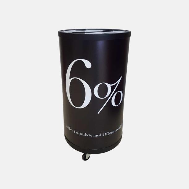 Rund kyl med tryck Vatten i glasflaska med egen logo