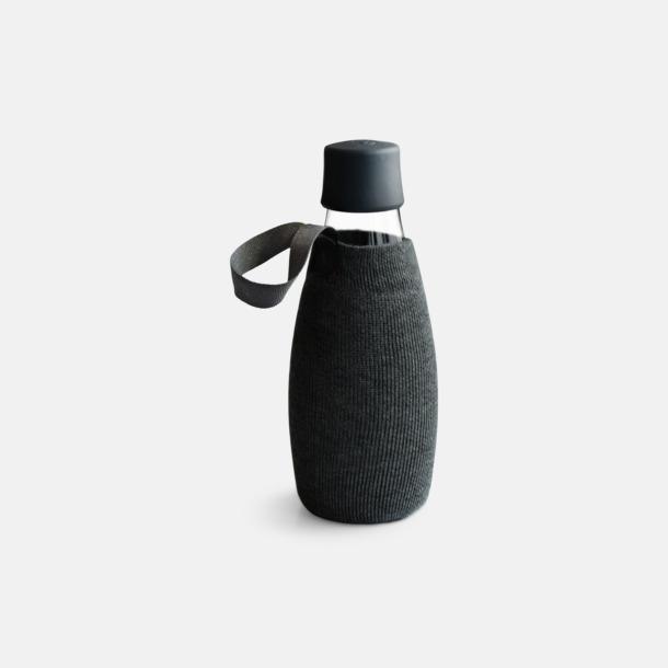 Sleeve Svart (tillval) Retap Flaska 50 cl med reklamtryck