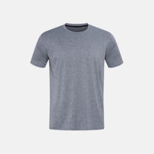 Billiga sport t-shirts i återvunnet material med reklamtryck