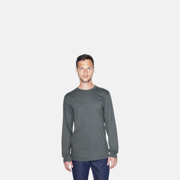 Fina, långärmade unisex t-shirts med reklamtryck