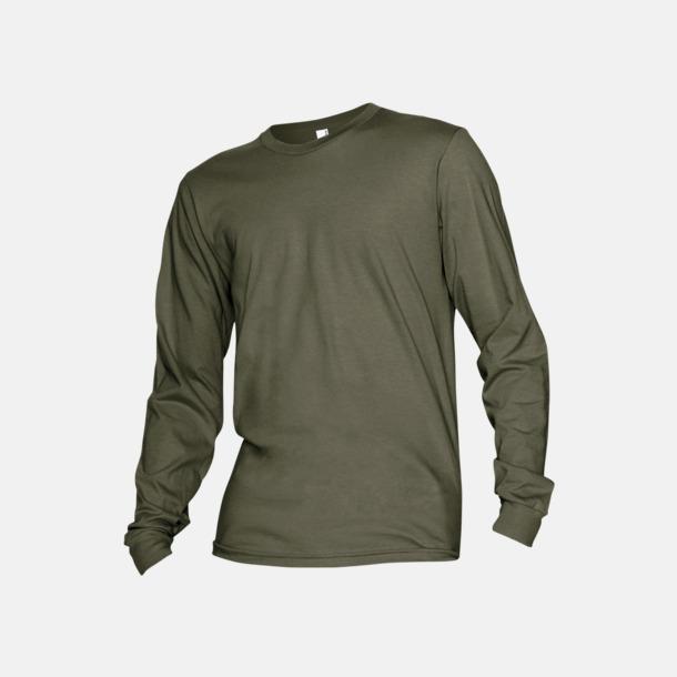Lieutenant Fina, långärmade unisex t-shirts med reklamtryck