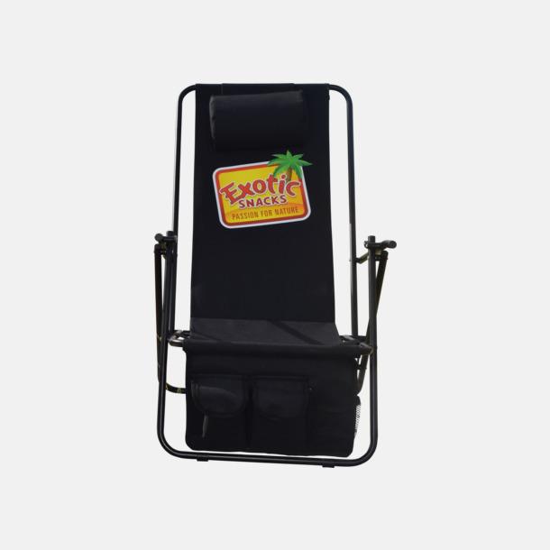 De Luxe med tryck Lyxig brassestol med kudde och väska med eget reklamtryck
