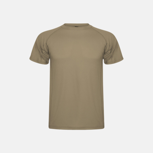 Dark Sand (unisex) Billiga sport t-shirts i unisex, dam & barn - med reklamtryck