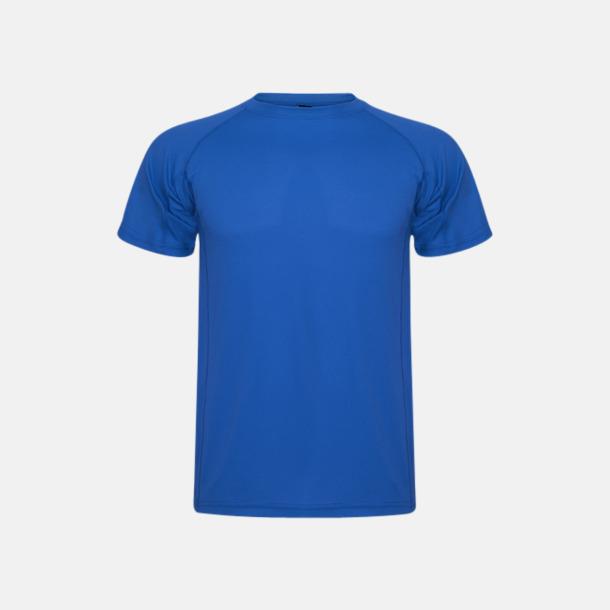 Royal Blue (unisex, barn) Billiga sport t-shirts i unisex, dam & barn - med reklamtryck