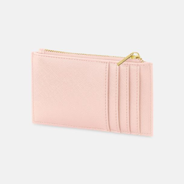 Soft Pink Fuskläder korthållare med reklamtryck