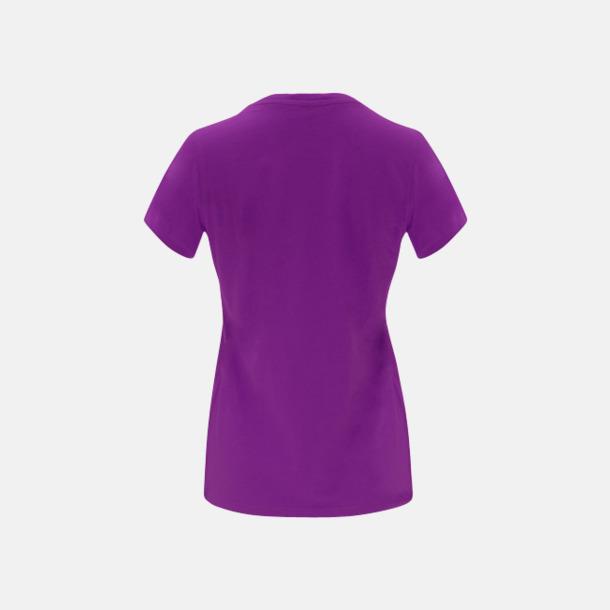 Premium dam t-shirts med reklamtryck