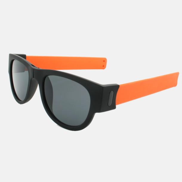 Orange SlapShade solglasögon Med tryck