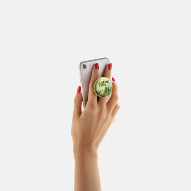 Mobilställ & -hållare med reklamtryck